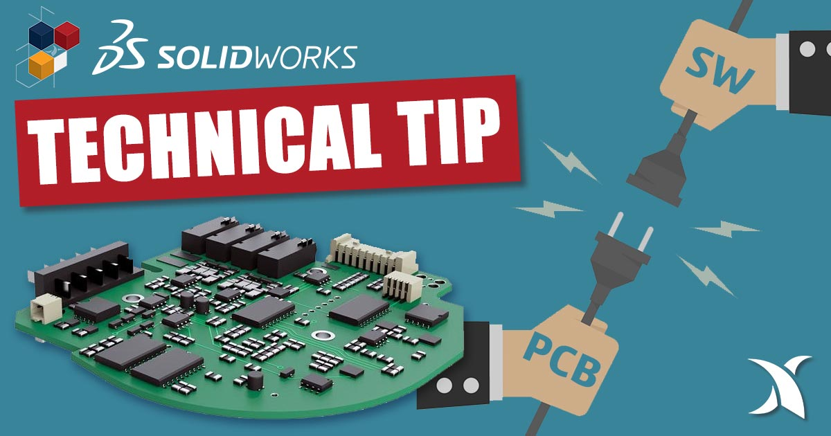 Collaborate more efficiently between SOLIDWORKS, Flow Simulation and SOLIDWORKS PCB or Altium with the PCB Connector